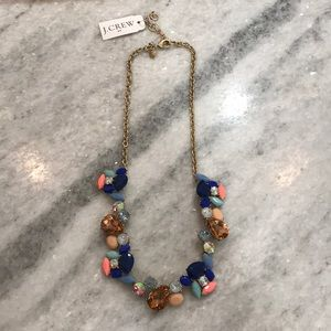 J.Crew Mixed Stone Statement Necklace